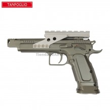 PISTOLA TANFOGLIO GOLD CUSTOM ERIC GRAUFFEL IPSC 4.5 MM CO2 FULL METAL