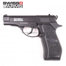 PISTOLA SWISS ARMS P84 4.5 MM CO2 FULL METAL