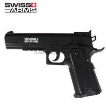 PISTOLA SWISS ARMS MATCH 4.5 MM CO2