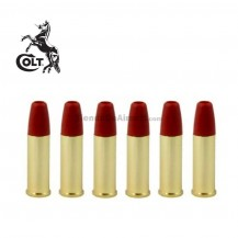 Pack 6 Balas Doradas Colt Python 357