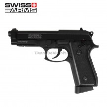 PISTOLA SWISS ARMS P92 4.5 MM CO2 FULL METAL BLOW BACK