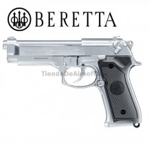 Beretta M92 FS INOX Pistolas 6mm Full Metal Blowback CO2