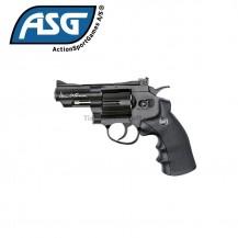 """Revolver ASG Dan Wesson 2.5"""" CO2 Negro"""