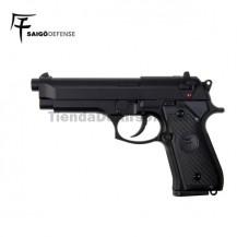 Saigo 92 ( Tipo Beretta 92 ) Pistola 6mm Gas