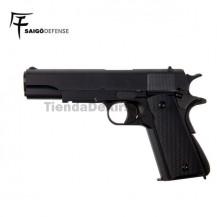 Saigo 1911 ( Tipo Colt 1911 ) Pistola 6mm Gas