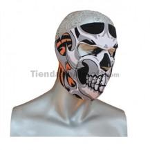 Mascara Tapaboca neopreno skull