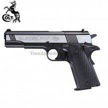 Colt Government M1911 A1 Dark Ops - 4.5 mm - CO2