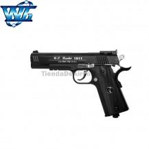 WG Spot 601 - Tipo Colt 1911 Special Combat. Pistola 6mm Corredera metálica -CO2