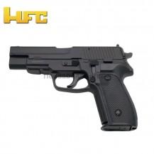 HFC Tipo Sig Sauer P226 Negra - Pistola Muelle Pesada - 6 mm.