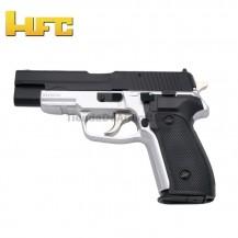 HFC Tipo Sig Sauer P226 Bicolor - Pistola Muelle Pesada - 6 mm.