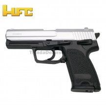 HFC Tipo H&K USP Bicolor - Pistola Muelle Pesada - 6 mm.