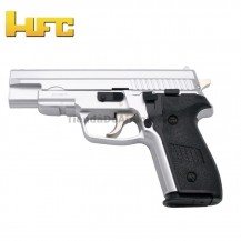 HFC Tipo Sig Sauer 229 Cromada - Pistola Muelle Pesada - 6 mm.