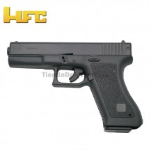 HFC Tipo Glock 17 - Pistola Muelle Pesada - 6 mm.