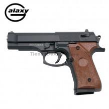 Galaxy G22  Negra - Pistola Muelle - 6 mm Aleación metal zinc