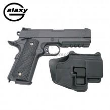 Galaxy G25 Con Funda Rígida - FULL METAL tipo Warrior   - Pistola Muelle - 6 mm