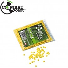 0.12 gr - 6mm - Combat Zone 1000 Bbs