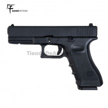 Saigo 17 ( Tipo Glock 17)  6MM CO2 BlowBack Metal Slide
