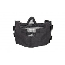 Steel Mesh Half Face Mask (Black Color)