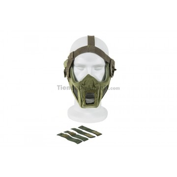 https://tiendadeairsoft.com/2748-thickbox_default/full-face-steel-mesh-mask-w-fast-helmet-adapter-green-color.jpg