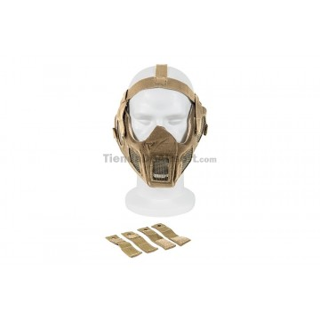 https://tiendadeairsoft.com/2749-thickbox_default/full-face-steel-mesh-mask-w-fast-helmet-adapter-tan-color.jpg