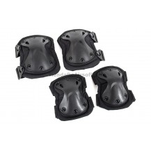 Rodilleras y coderas Pad Set  (Black Color Negro)