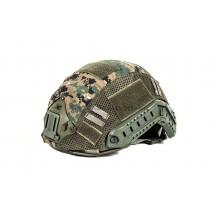 Black River F.A.S.T. Helmet Cover Digital Woodland (funda casco) 65% poliestere 35% cotone