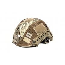 Black River F.A.S.T. Helmet Cover Mandrake (funda casco) 65% poliestere 35% cotone