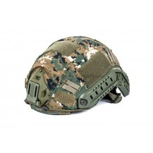 Black River Helmet Cover MH & PJ Marpat Woodland (funda casco) 65% poliestere 35% cotone