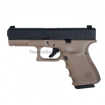 https://tiendadeairsoft.com/3065-thickbox_default/kjw-23-tipo-glock-23-pistola-6mm-gas-blowback-tan-black.jpg