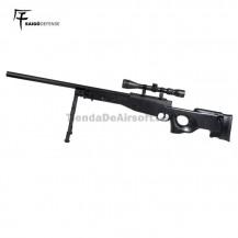Saigo L96 Sniper Muelle Negro