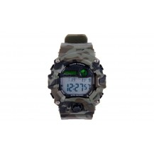 RELOJ TACTICO DIGITAL WOODLAND