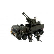 BRICK CONSTRUCCÓN TRANSPORTE ARMADO 306 PCS COMPATIBLE LEGO
