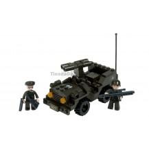 BRICK CONSTRUCCÓN COCHE DE COMBATE 102 PCS COMPATIBLE LEGO