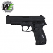 WE Tipo F226 Con Rail Pistola airsoft Full Metal Blowback Gas
