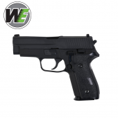 WE Tipo F228 Pistola airsoft Full Metal Blowback Gas