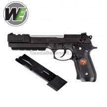 Pistola Burry Burton Resident Evil  Racoon Police  Biohazard Extended Full Metal Negra