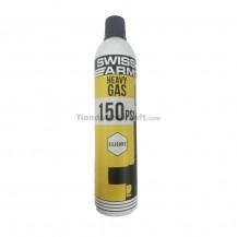 Gas - SWISS ARMS - Heavy gas 150PSI - 600 ml -con silicona