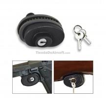 Candado para armas con llave